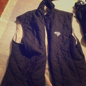 Quilted vest. Size large.